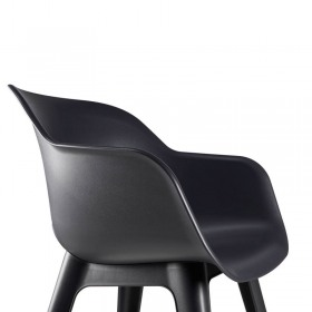 Cupa scaun negru Keter Akola