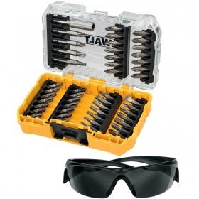 Set insurubare 47 accesorii si ochelari protectie DeWalt - DT70703