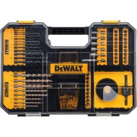 Set insurubare si gaurire 100 accesorii compatibil TSTAK DeWalt - DT71569