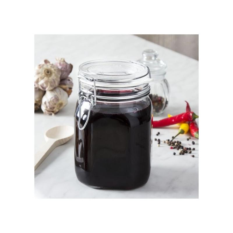 Borcan ermetic din sticla Bormioli Fido 0.75 L