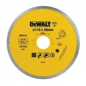 Disc diamantat placi ceramice pentru DWC410 DeWalt 110x20mm - DT3714