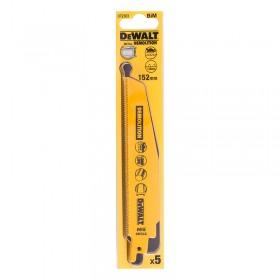 Set 5 lame pentru taiere rapida Bi-Metal DeWalt 152mm - DT2303