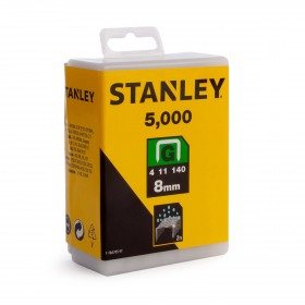 Capse profesionale otel galvanizat Tip G 8mm 5000buc Stanley - 1-TRA705-5T