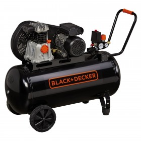 Compresor Black+Decker 100L - BD 220/100-2M