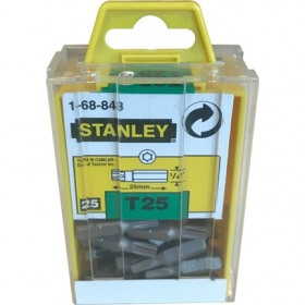 Set 25 varfuri de insurubat torx Stanley T25x25mm - 1-68-843