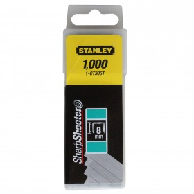 Capse profesionale pentru cabluri Tip CT300 8mm 1000buc Stanley - 1-CT305T