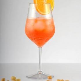 Pahar vin policarbonat transparent Gold Plast Redone 470 ml