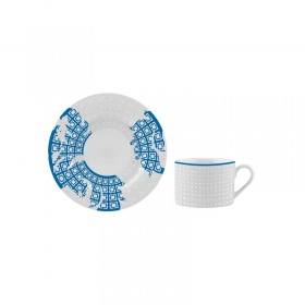 Ceasca si farfurie portelan ceai Versace 19.69 Favola 200 ml
