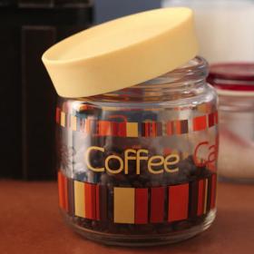 Borcan sticla Bormioli Giara Colorful Coffee 750 ml