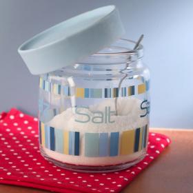 Borcan sticla Bormioli  Giara Colorful Salt 750 ml