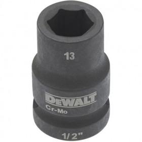 Cheie tubulara de impact 1/2 DeWalt 13 mm - DT7531