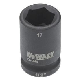 Cheie tubulara de impact 1/2 DeWalt 17 mm - DT7535