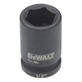 Cheie tubulara de impact 1/2 DeWalt 19 mm - DT7537