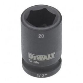 Cheie tubulara de impact 1/2 DeWalt 20 mm - DT7538