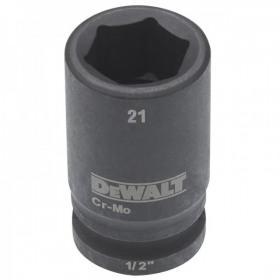 Cheie tubulara de impact 1/2 DeWalt 21 mm - DT7539