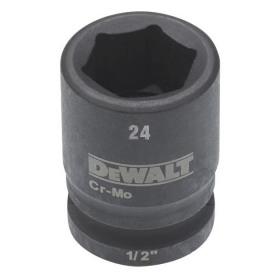 Cheie tubulara de impact 1/2 DeWalt 24 mm - DT7541