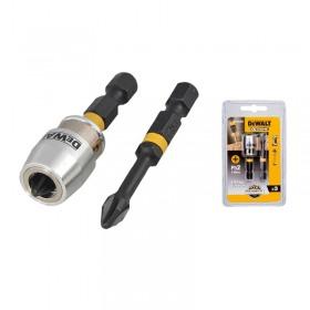 Set 2 biti de torsiune cu maneca magnetica PH2 50mm DeWalt - DT70536T