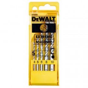 Set 5 burghie zidarie Extreme Dewalt 4/5/6/8/10mm - DT6956