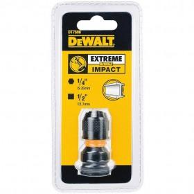"""Adaptor de impact - patrat 1/2"""" la hexagonal 1/4"""" 52mm DeWALT®  - DT7508"""