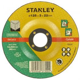 Disc abraziv piatra/ciment 125x22x3.2mm Stanley - STA32080