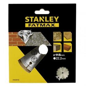 Disc diamantat segmentat 115x22.23mm Stanley Fatmax - STA38102