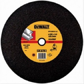 Disc abraziv metal Extreme 355x25.4x3mm DeWalt® - DT42800