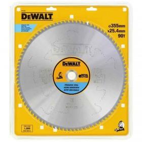 Disc pentru otel inoxidabil 90dinti 355x25.4 DeWalt - DT1922