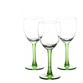 Set 3 pahare vin alb Libbey Clarity Kiwi 190 ml