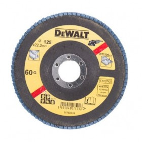 Disc lamelar pentru metal 125x22.23mm 60gr DeWalt - DT3309