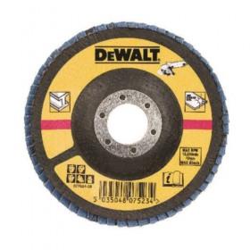 Disc lamelar DeWALT DT3310 pentru metal 125x22mm 80gr