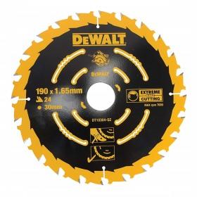 Disc pentru lemn 24dinti 190x1.65x30mm DeWalt Corded Extreme - DT10304