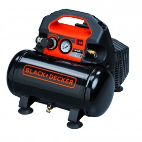 Compresor fara ulei Black+Decker 6L, 0.5Hp, 0.5Kw, 8 bar - BD 55/6