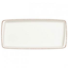 Platou rectangular portelan Bonna Retro 34 x 16 cm