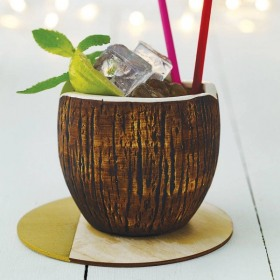 Pahar cocktail APS Tiki Coconut 570 ml