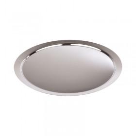 Tava prezentare bufet rotunda inox APS 46 x 2 cm