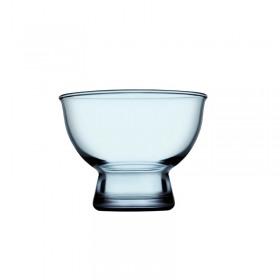 Set 3 cupe desert albastru Pasabahce Ice Ville 170 ml