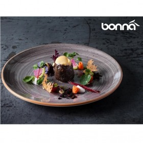 Farfurie intinsa portelan Bonna Space Gourmet 17 cm