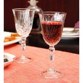Set 6 pahare vin rosu RCR Melodia 270 ml