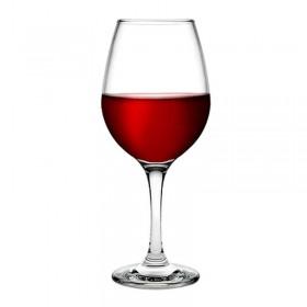 Set 6 pahare vin rosu Pasabahce Amber 350 ml