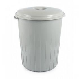Cos gunoi gri cu capac Tuffex 70 L