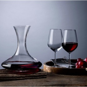 Set 4 pahare 490 ml si decantor Pasabahce Allegra