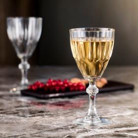 Set 6 pahare vin alb cu picior Pasabahce Diamond 190 ml