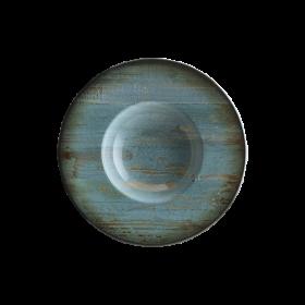 Farfurie adanca paste portelan Bonna Madera Mint 28 cm