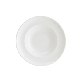 Farfurie adanca alba portelan Bonna Iris White 27 cm