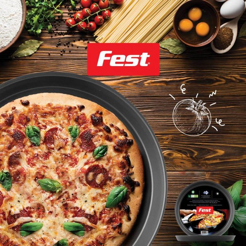 Tava adanca pizza teflon Fest Magic 26 cm