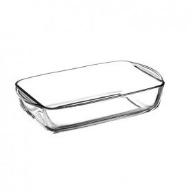 Vas termorezistent rectangular Pasabahce Borcam 3.85 L