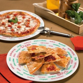 Platou servire pizza opal Bormioli Ronda 33 cm