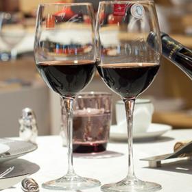 Set 4 pahare vin rosu Bormioli Premium 385 ml