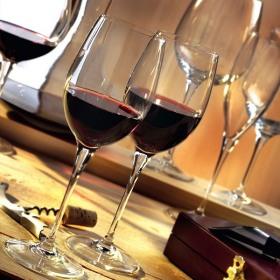 Set 6 pahare vin rosu Bormioli Premium 385 ml
