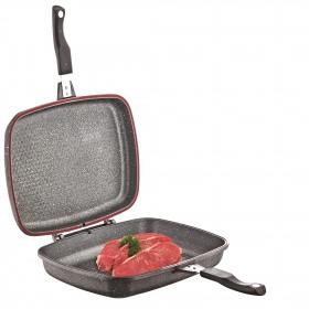 Tigaie dubla grill multifunctionala rectangulara Fest 32 x 26 cm